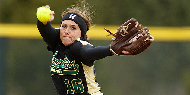 Husson Softball Healy