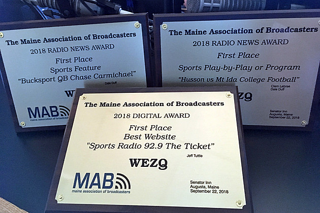 92.9 The Ticket Scores Six Broadcasting, Digital Awards